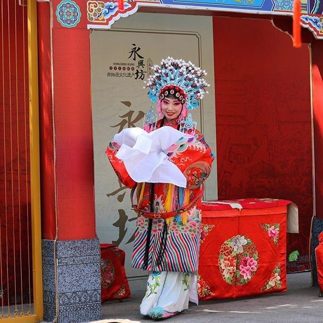 1523788272 #chineseopera #china #travel #xian
