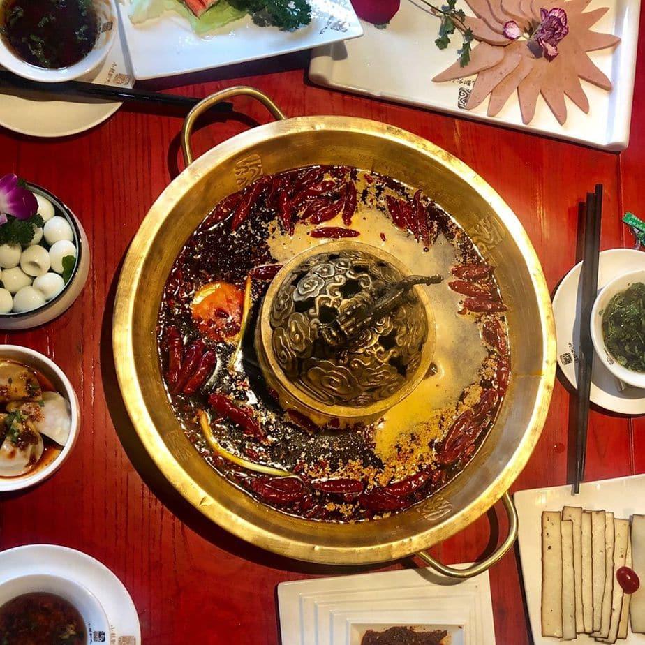 #spicy #lunch #hotpot #chengduexpat