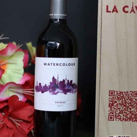 La Cave – Wine – Chengdu – Watercolor Shiraz