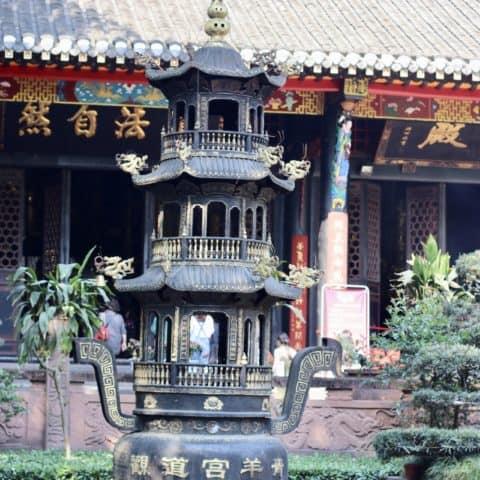 temple Chengdu - adrien becuwe