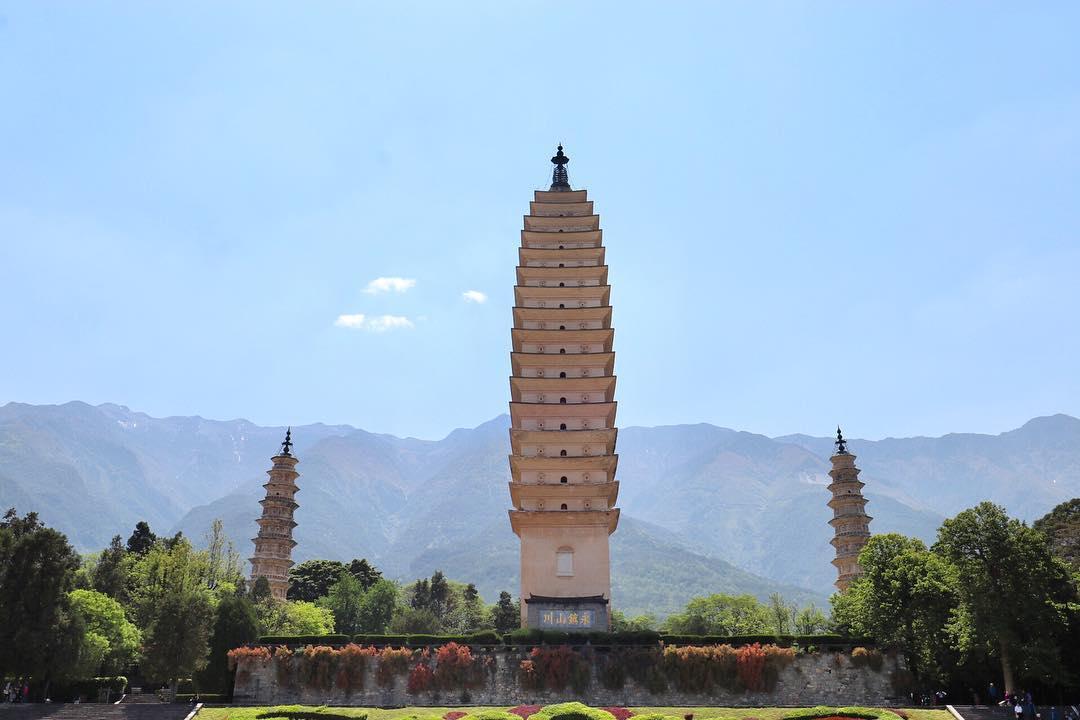 the-three-pagodas-dali-yunnan The three #pagodas #dali #yunnan #travel #china