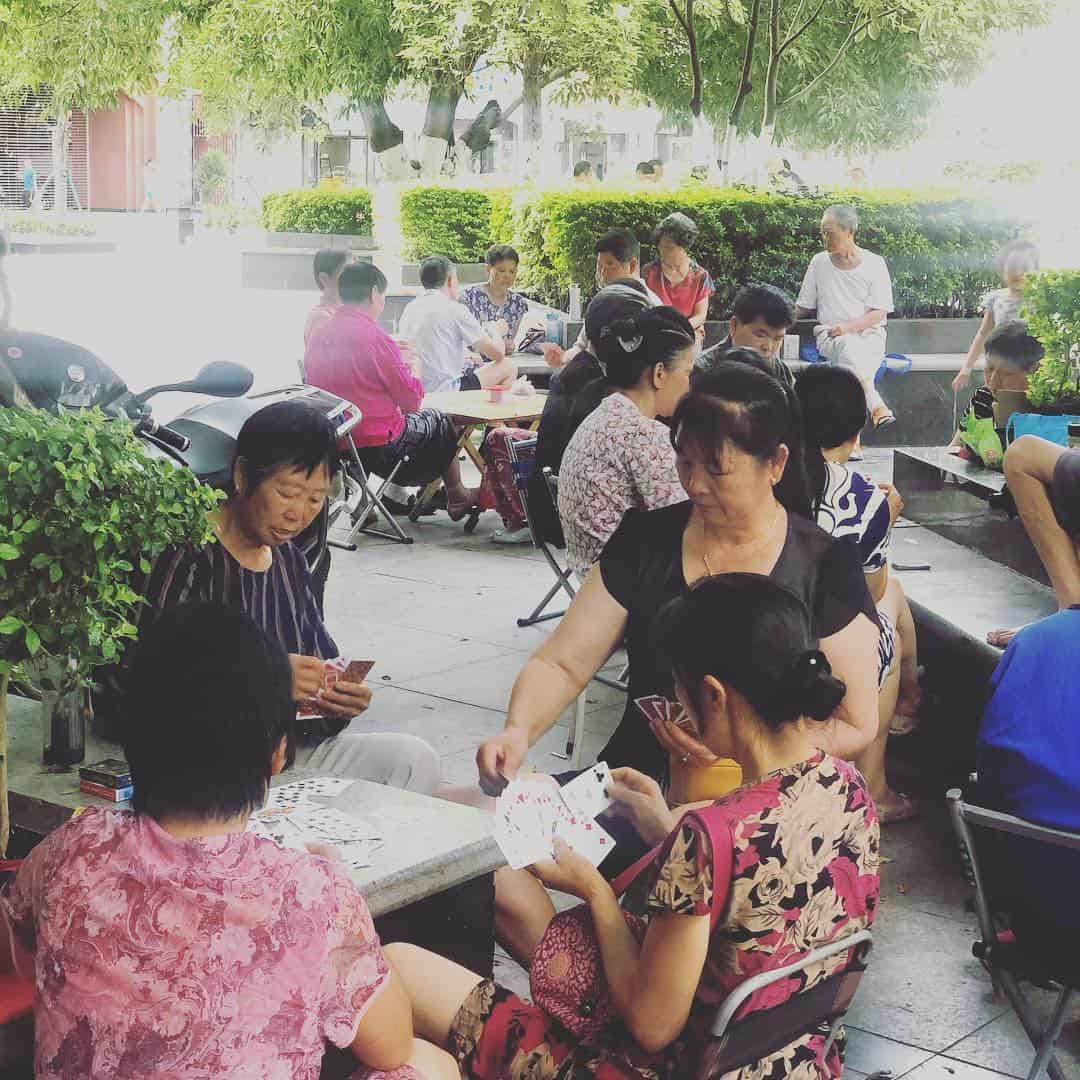afternoon-card-game-ayi-panzhihua #afternoon #card #game #ayi #panzhihua #relax #china