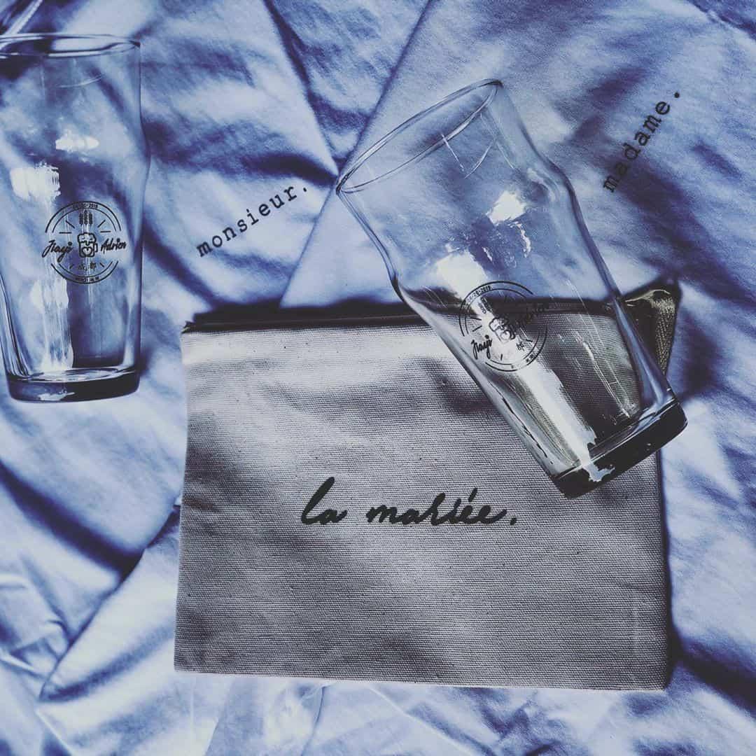 madame-monsieur-tshirt-wedding Madame / Monsieur #tshirt #wedding @butteeparis ... #chengdu #china #beer #glass
