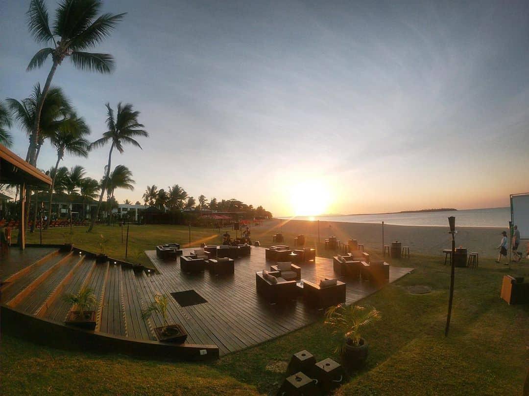 sunset-fiji-hilton-holiday #sunset #Fiji #Hilton #holiday