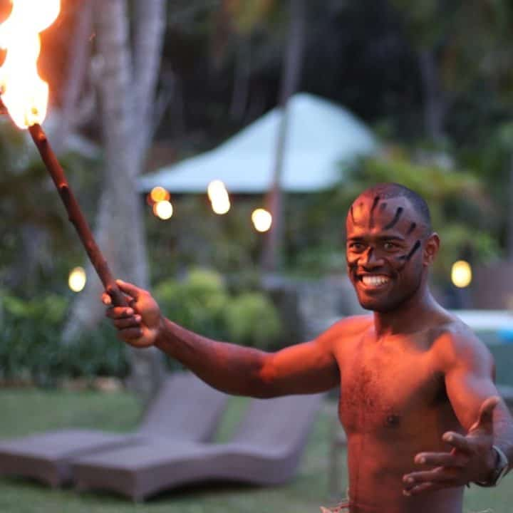 Fire Ceremony | Tropica Island Resort