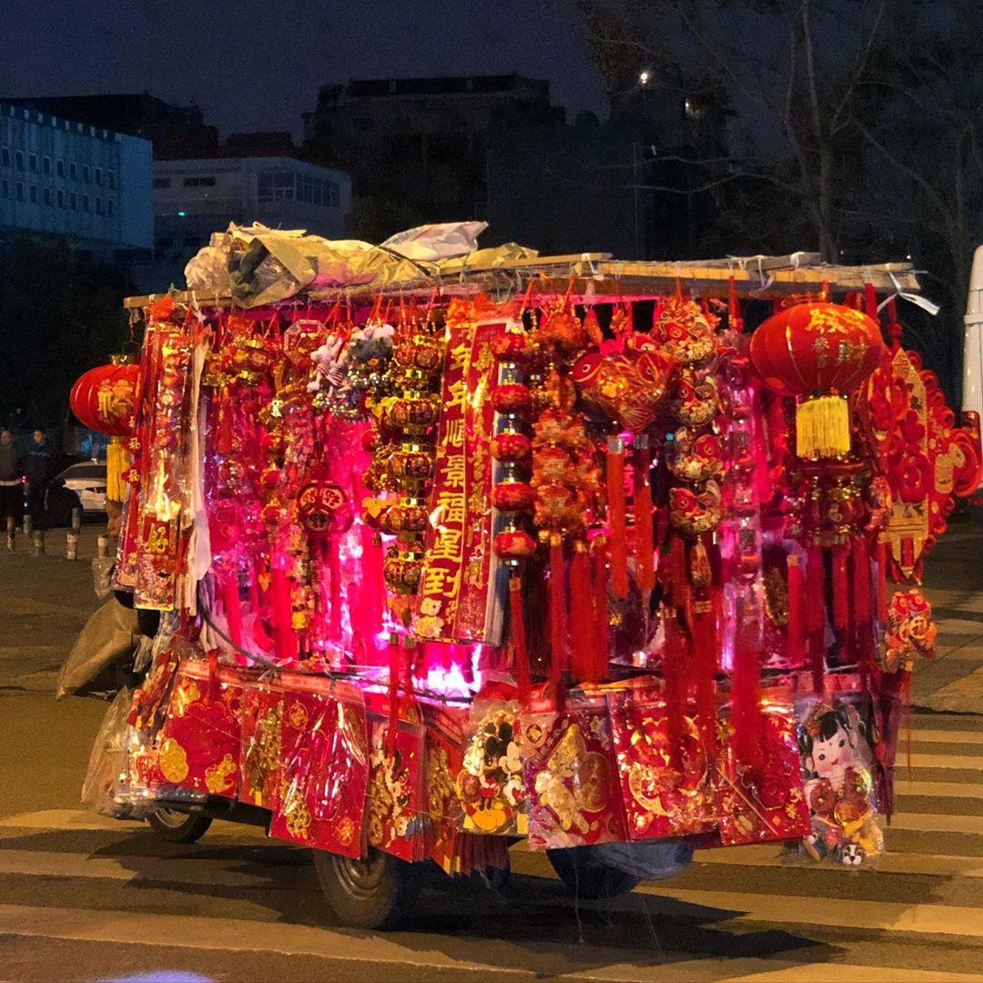 cny-chinesenewyear-chengdu-truck-chengduexpat #CNY #chinesenewyear  #chengdu #truck #chengduexpat